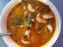 Tom Yum - we asked for spicy and suffered