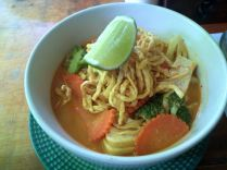 Khao Soi the local dish for lunch with local CSers