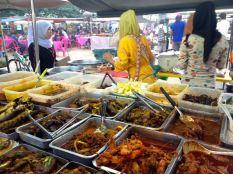 food market (15min break for the prayer)