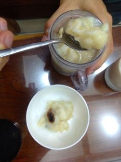 soursop with homemade yougurt