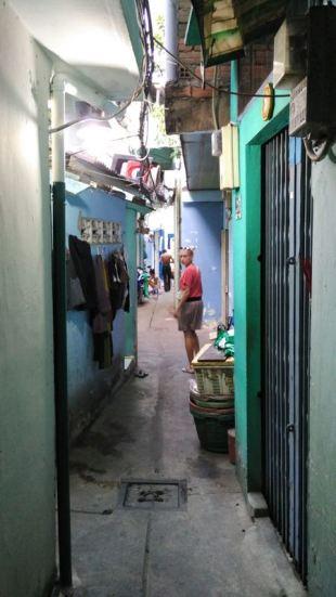 exploring back alleys