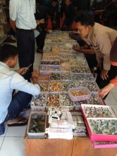Indonesian men love stones