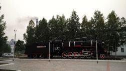steam engine in Tynda