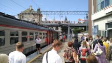 End stop on the Trans-Siberian