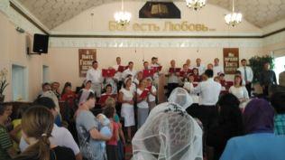 Baptist church visit