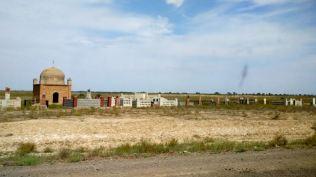 Kazakh cemetery