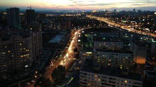view from Güzal's balcony