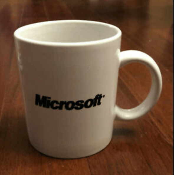 Million Dollar Mug Microsoft