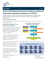 Existing Chemicals Fact Sheet - April 2018