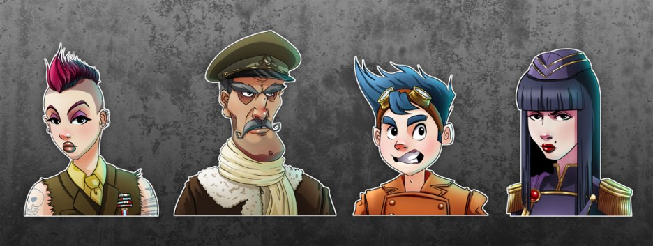 Commander Character concepts