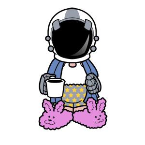 Unemployed Astronaut: Mascot