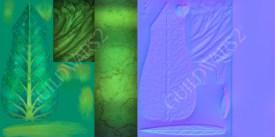 Guild Wars 2: Sylvari sign texture