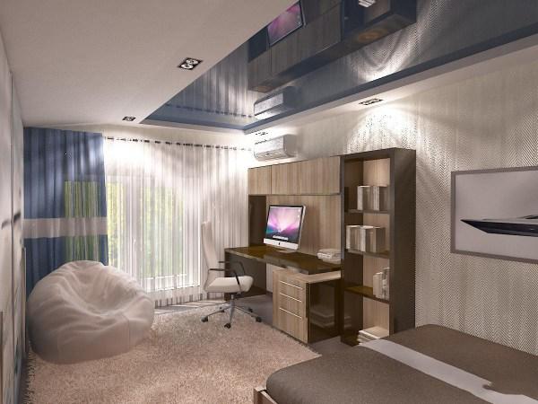 Дизайн комнаты для мальчика подростка 9, 12, 14 лет — фото ...
