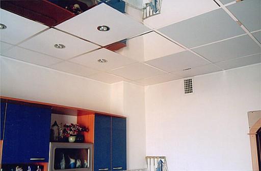 Навесные Потолки Для Кухни Фото