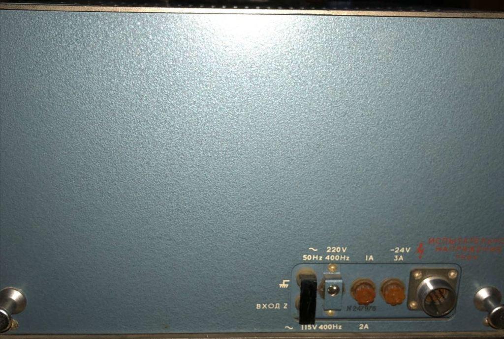 Осциллограф двухлучевой С1-55