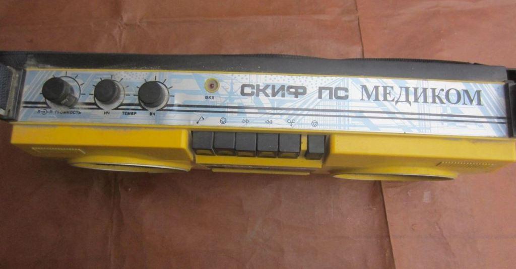 Скиф М-310С-2 кассетный магнитофон