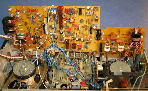 Скиф М-310С-2 кассетный магнитофон платы