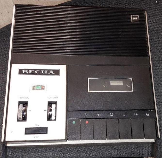 Весна 305 Портативный кассетный магнитофон