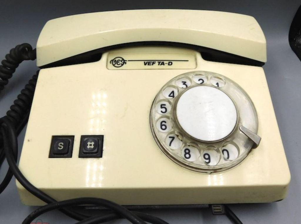Телефонный аппарат VEF TA-D (ВЭФ ТА-Д)