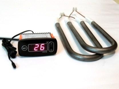 Термостат цифровой для балконного погребка, ящика