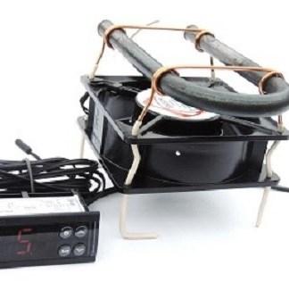 Терморегулятор ecs-961 c тепловентилятором