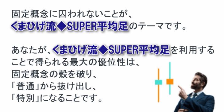 くまひげ流・SUPER平均足