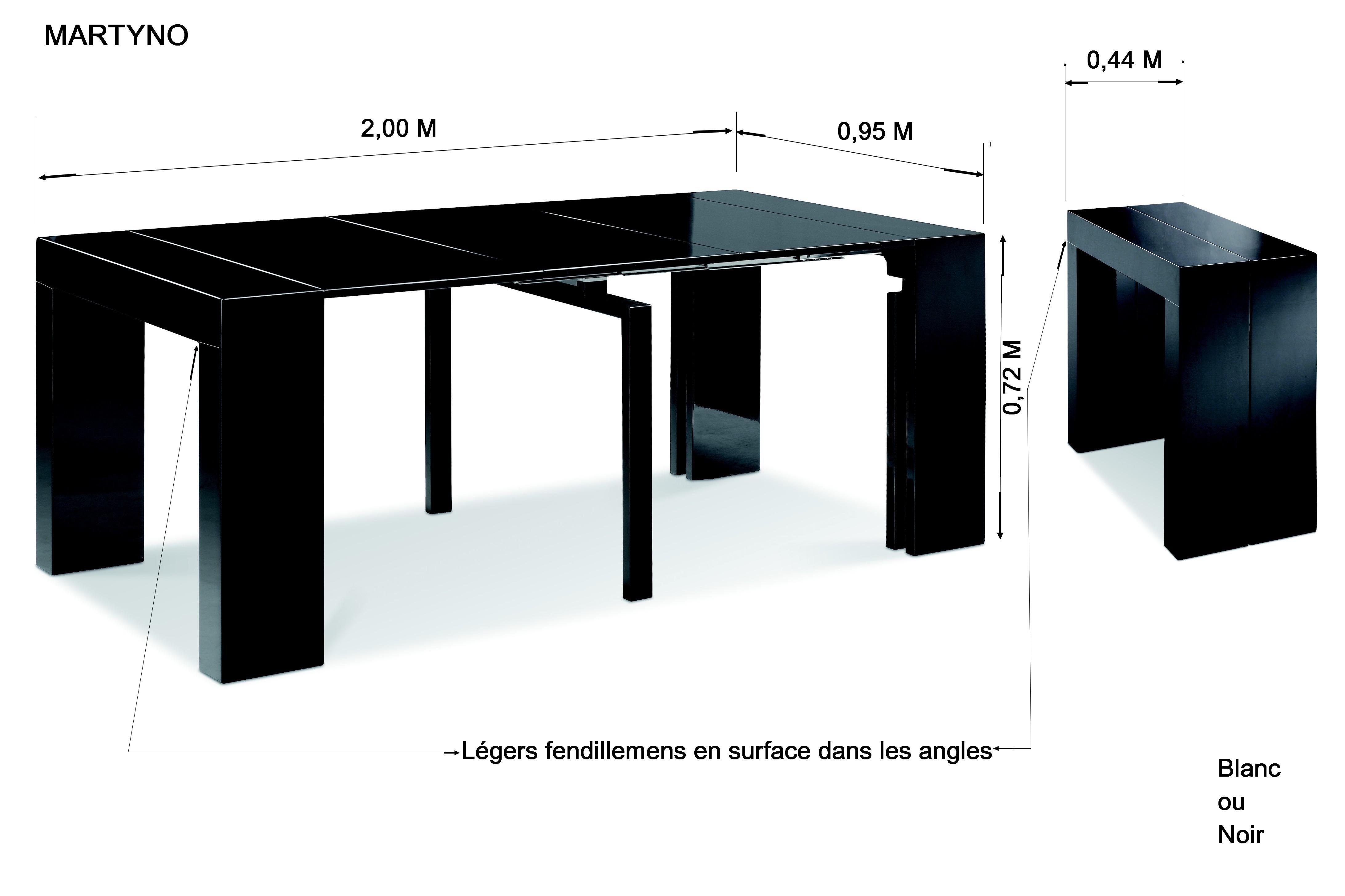 Meuble Console Extensible Maison Design