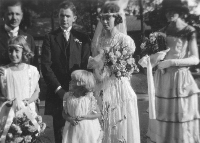 Harley and Helen in Wedding Photo