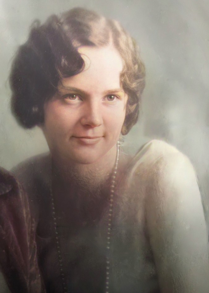 High School Photo of Blanche Isabel Price