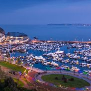 View across Torquay Harbour