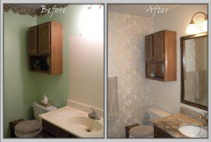 simply ideas can improve bathroom on a budget