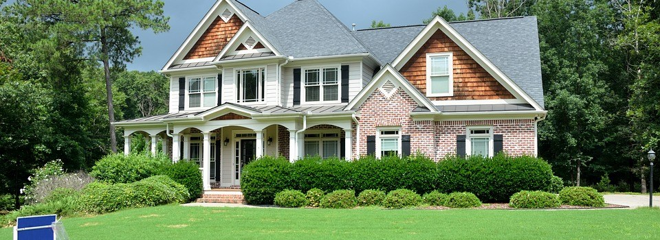 Outside home staging