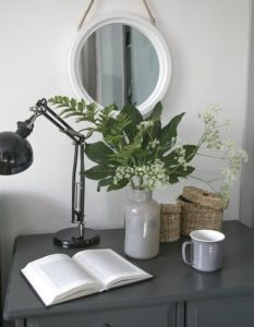 Mirror is a great tool of home decoration.