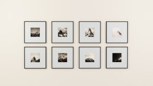 Use frames as home decoration