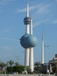 Towers in Kuwait.