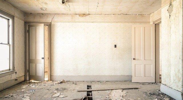 Renovating a house,