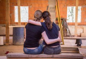 Renovating a home.