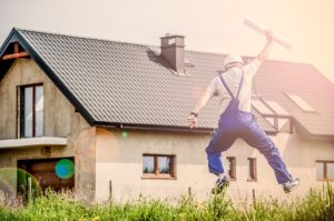 Man is planning a remodeling - Get some ideas on how to make feel-good home improvements you should do asap.