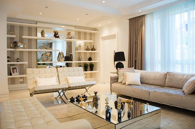 Modern home.