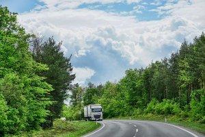 Truck road.