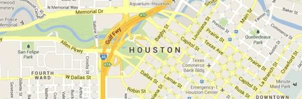 houston-texas-map