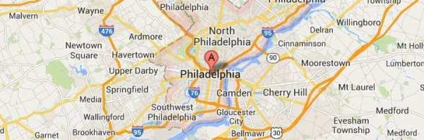 philadelphia-pennsylvania-map