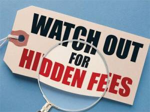 Avoid Hidden Fees