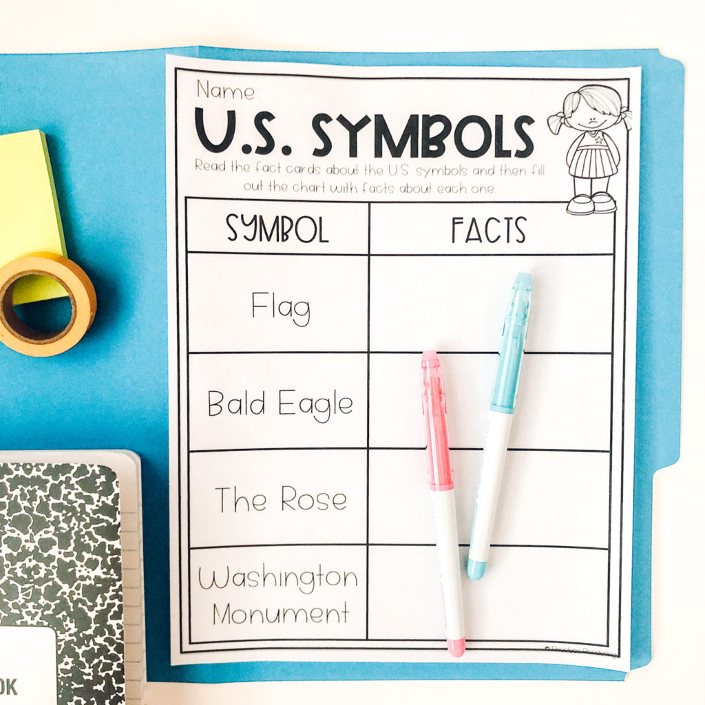 Hands On Activities For Teaching Us Symbols