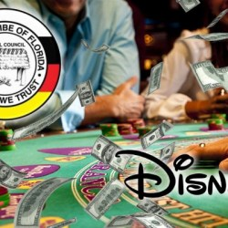 Seminole and Disney Not Giving up on Fighting the Florida Gambling Expansion