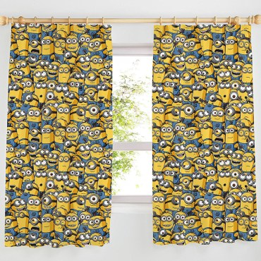 """DSP114 - Despicable Me Minions Curtains - Available In 54"""" & 72"""""""