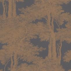 RAS144-Passepartout-Trees-Wallaper-Black-Copper-EA