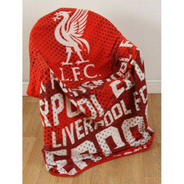 LIV288 - Liverpool FC Impact Fleece Blanket