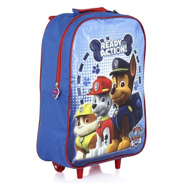 PAW081 - Paw Patrol Action Wheeled Trolley Bag