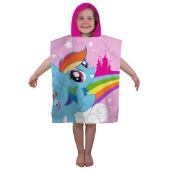 PON057 - My Little Pony Equestria Poncho Hooded Towel